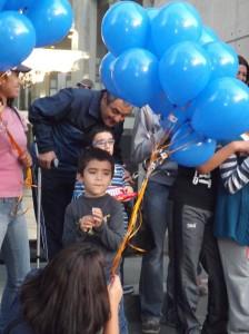 Bastián y sus globos